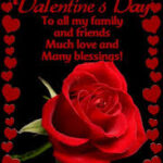 Happy Valentines Day To My Family And Friends Images Twitter