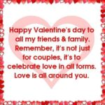Happy Valentines Day To My Family Facebook