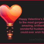 Happy Valentines Husband