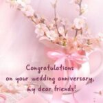 Happy Wedding Anniversary Friend Pinterest