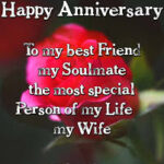 Happy Wedding Anniversary Quotes For Wife Facebook