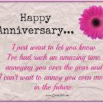 Happy Wedding Anniversary Wishes To Friend Pinterest
