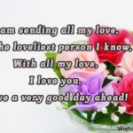 Have A Nice Day Message To My Love Pinterest