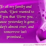 I Love My Family And Friends Quotes Facebook