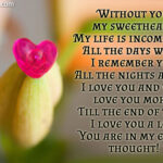 I Love U Sweetheart Quotes Twitter