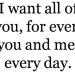 I Want All Of You Quotes