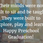 Inspirational Message For Kindergarten Graduation Tumblr