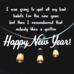 Inspirational Quotes For New Year's Wish