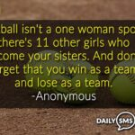 Inspirational Softball Sayings Twitter