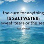 Isak Dinesen Salt Water Pinterest