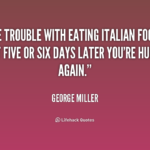 Italian Food Quotes And Sayings