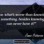 James Patterson Quotes Tumblr