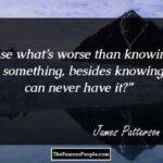James Patterson Quotes Tumblr