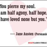 Jane Austen Quotes Tumblr