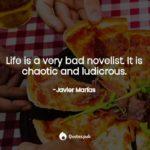 Javier Marias Quotes Facebook