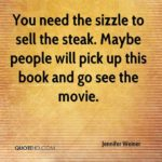Jennifer Weiner Quotes Facebook