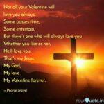 Jesus Is My Valentine Quotes Facebook