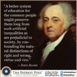 John Adams Education Quote Facebook