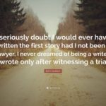 John Grisham Quotes Tumblr