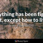 John Paul Sartre Quotes