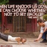 Karate Kid Inspirational Quotes Facebook