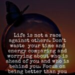 Life Is Not A Race Quotes
