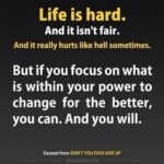 Life Isnt Fair Quotes Pinterest
