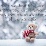 Lonely Valentines Day Quotes Twitter