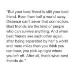 Long Distance Best Friend Quotes Facebook
