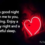 Long Sweet Goodnight Message For Boyfriend Twitter