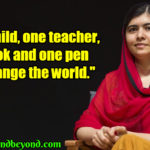 Malala Quotes On Bravery Facebook