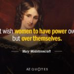 Mary Wollstonecraft Quotes Facebook