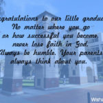 Message For Parents For Graduation Tumblr
