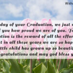 Message For Parents For Graduation Pinterest