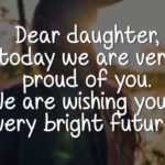 Message To Daughter On Her Graduation
