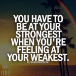 Message To Give Strength Pinterest