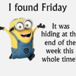Minion Friday Quotes Pinterest