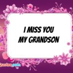 Missing My Grandson Quotes
