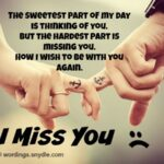 Missing You Message Twitter