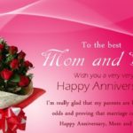Mom And Dad Anniversary Poems From Daughter