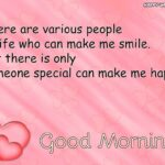 Morning Greetings To Special Someone