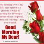 Morning Message For Special Someone Facebook