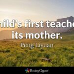 Mother First Teacher Quote Facebook