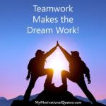 Motivational Quotes For Teamwork Twitter