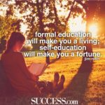 Motto About Education And Success Facebook