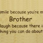 My Big Brother Quotes