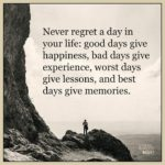 Never Regret A Day In Your Life Author Facebook