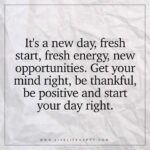 New Day Fresh Start Quotes Tumblr