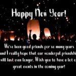 New Year Message To Best Friend