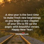 New Year New Chapter Quotes Pinterest